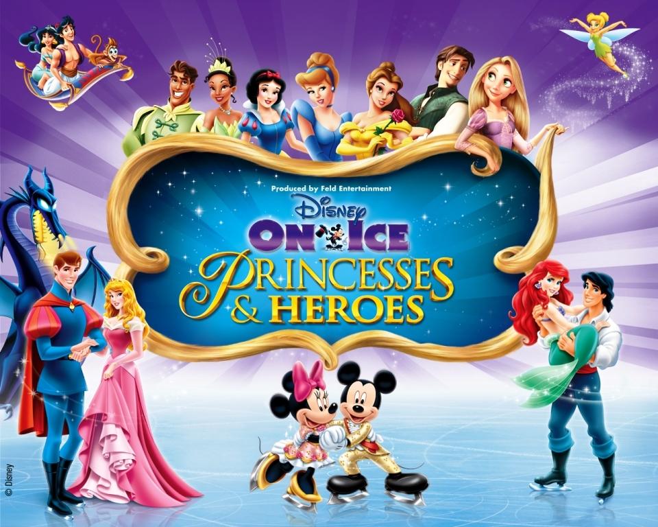 Princesses And Heroes Disney On Ice Dubai Seashells