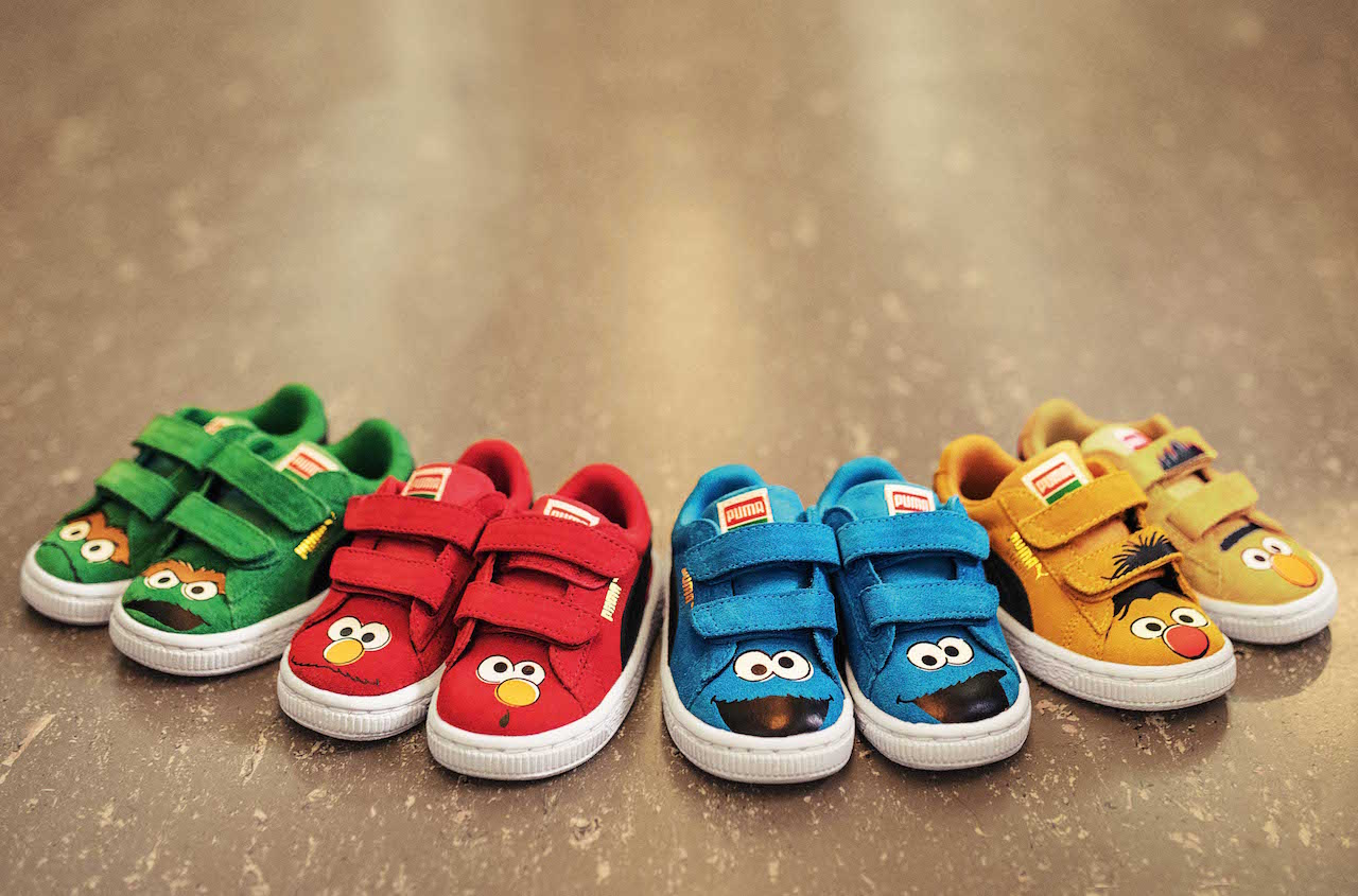 5e95cab759a PUMA x Sesame Street | Iconic Footwear collection for children ...