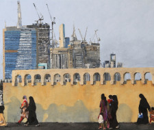 Dubai | ikonhouse |The Ultimate City| An Exhibition of Paintings by Ronald Dupont