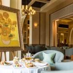 "The ""ART"" of afternoon tea with Vincent Van Gogh | Fairmont The Palm | Dubai"