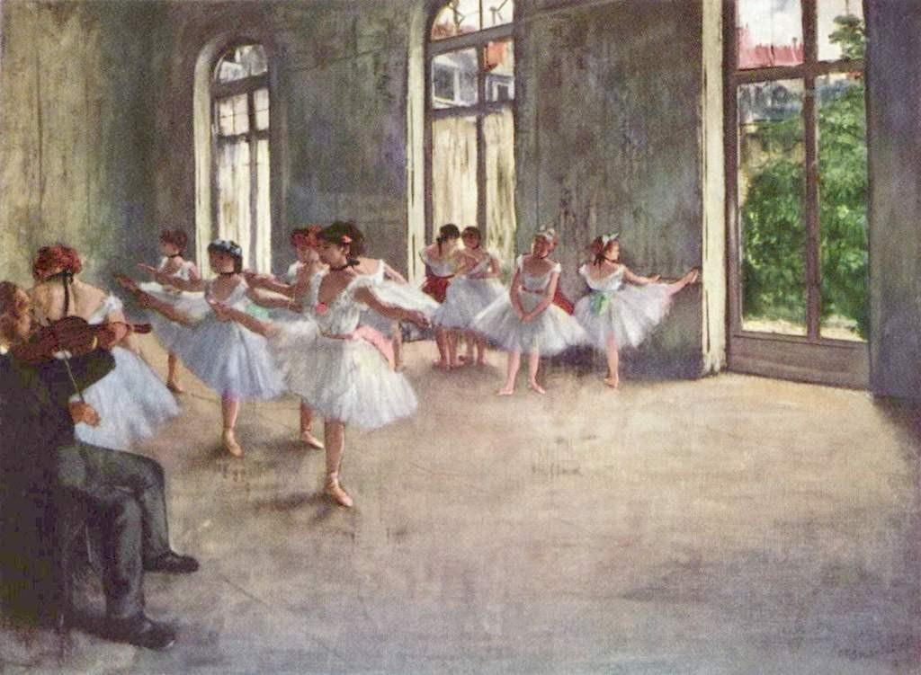 Ballerinas - Edgar Degas