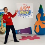 Arts & Crafts with Lloyd Warbey | Disney's Art Attack workshop in Dubai | Dubai Summer Surprises