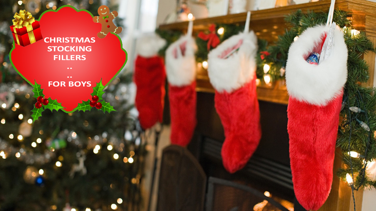 Christmas Stocking Fillers for Boys