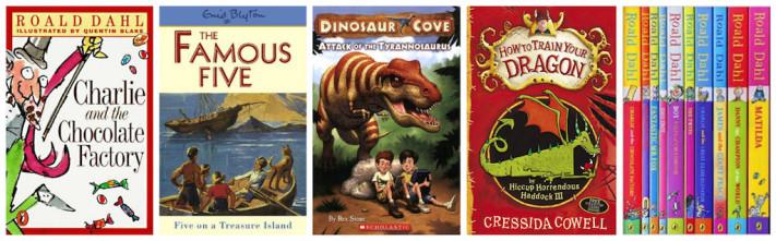 Favourite Books for Boys