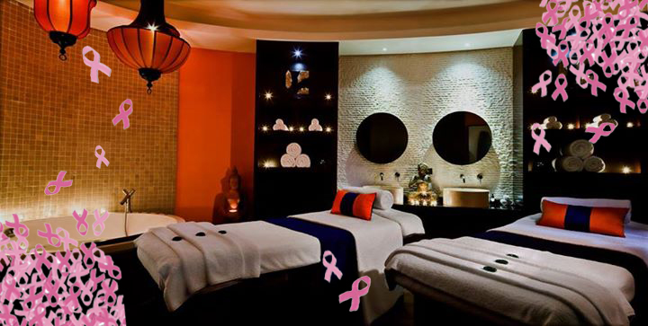 sensasia urban spa indulge for a good cause in the pink treatment in support of breast cancer. Black Bedroom Furniture Sets. Home Design Ideas