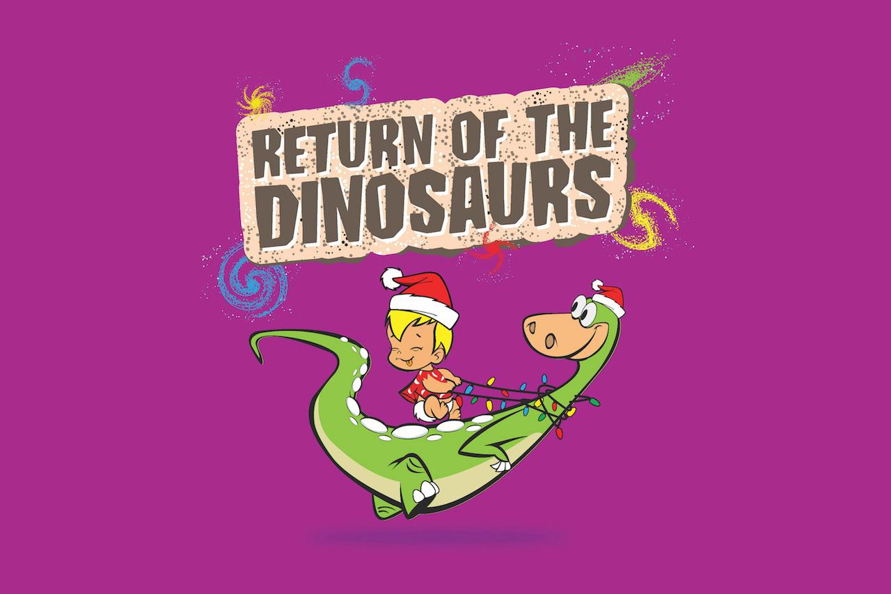Return of the Dinosaurs at Burjuman