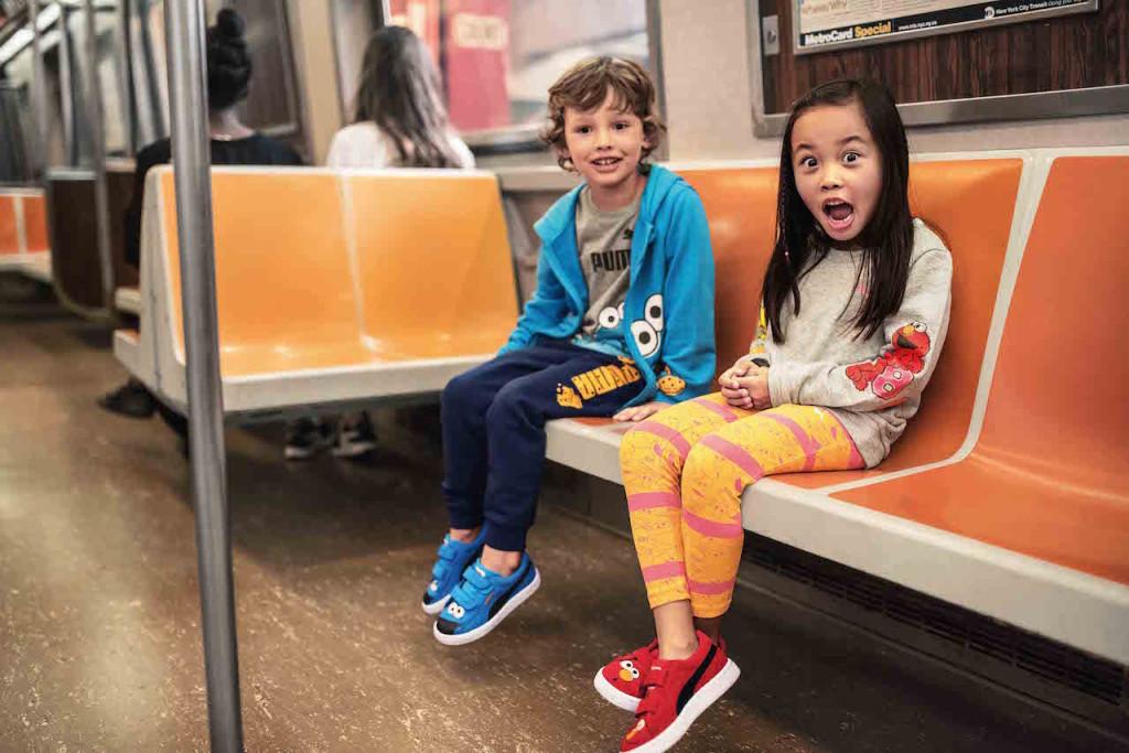 Sesame Street x Puma