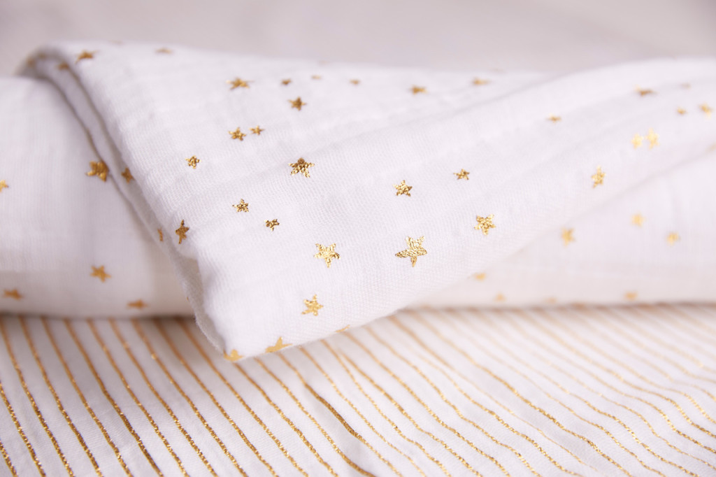white_gold_swaddle_stars_stripes