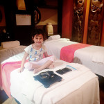 Christmas Pampering with Sensasia Urban Spa   Sofia, my daughter and I enjoying some mother daughter time