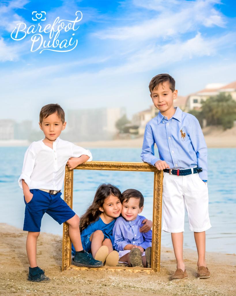 Barefoot Dubai shoot Teaser Edwina
